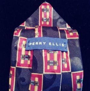PERRY ELLIS SILK MENS TIE